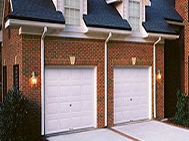raised panel steel garage doors