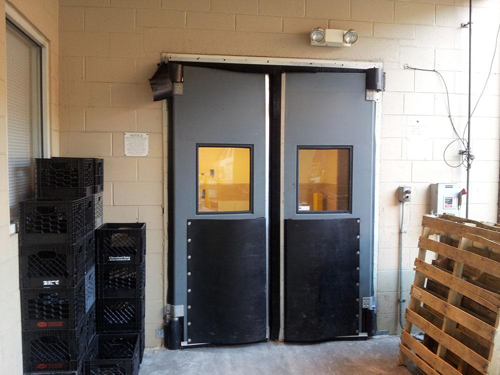 swingers garage door