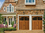 wooden carriage house garage doors PA